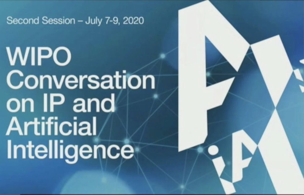 WIPO 2020 Artificial Intelligence Conversation